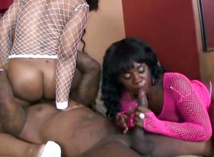 Ebony fuck-a-thon where Vanilla..